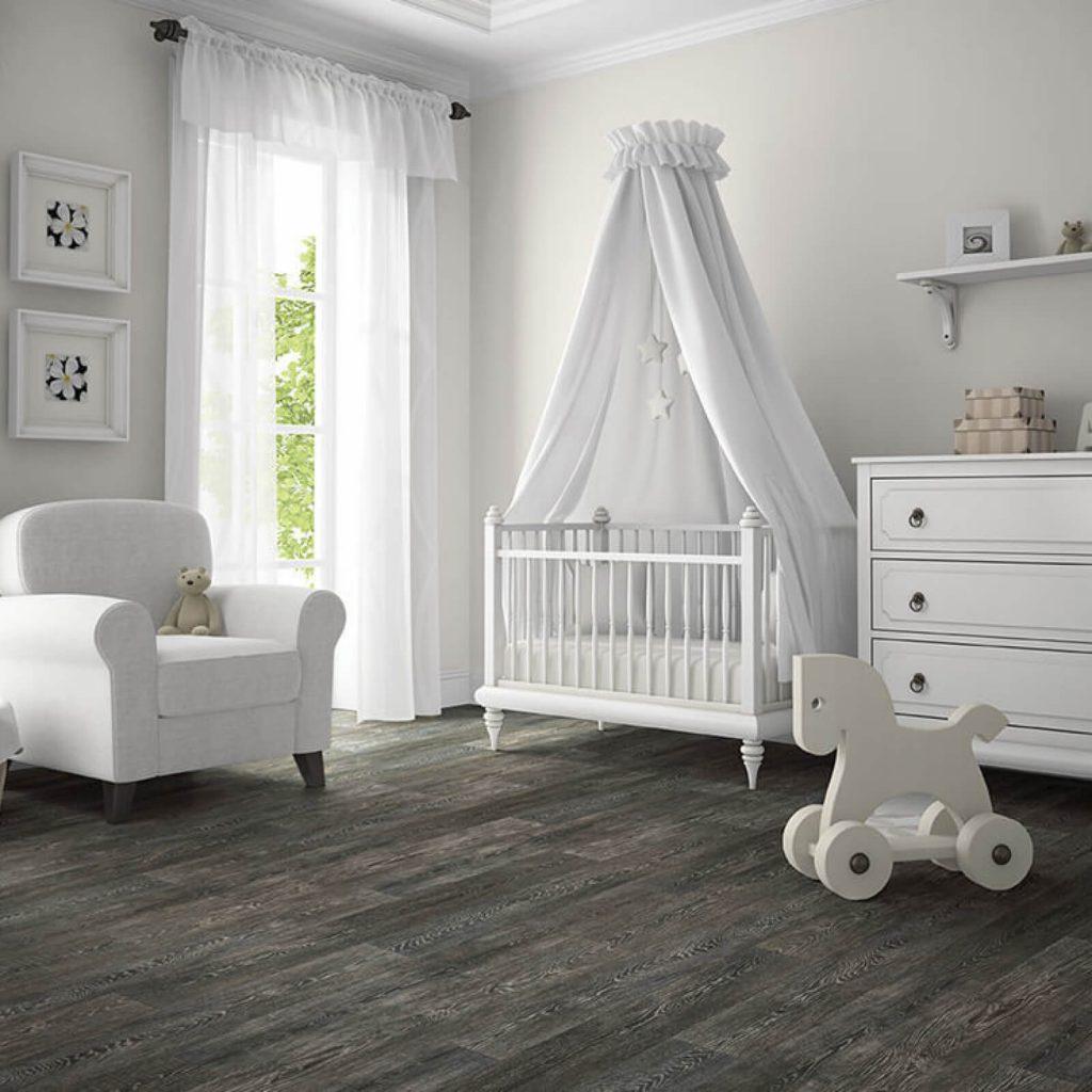 Babyroom vinyl flooring | McCool's Flooring