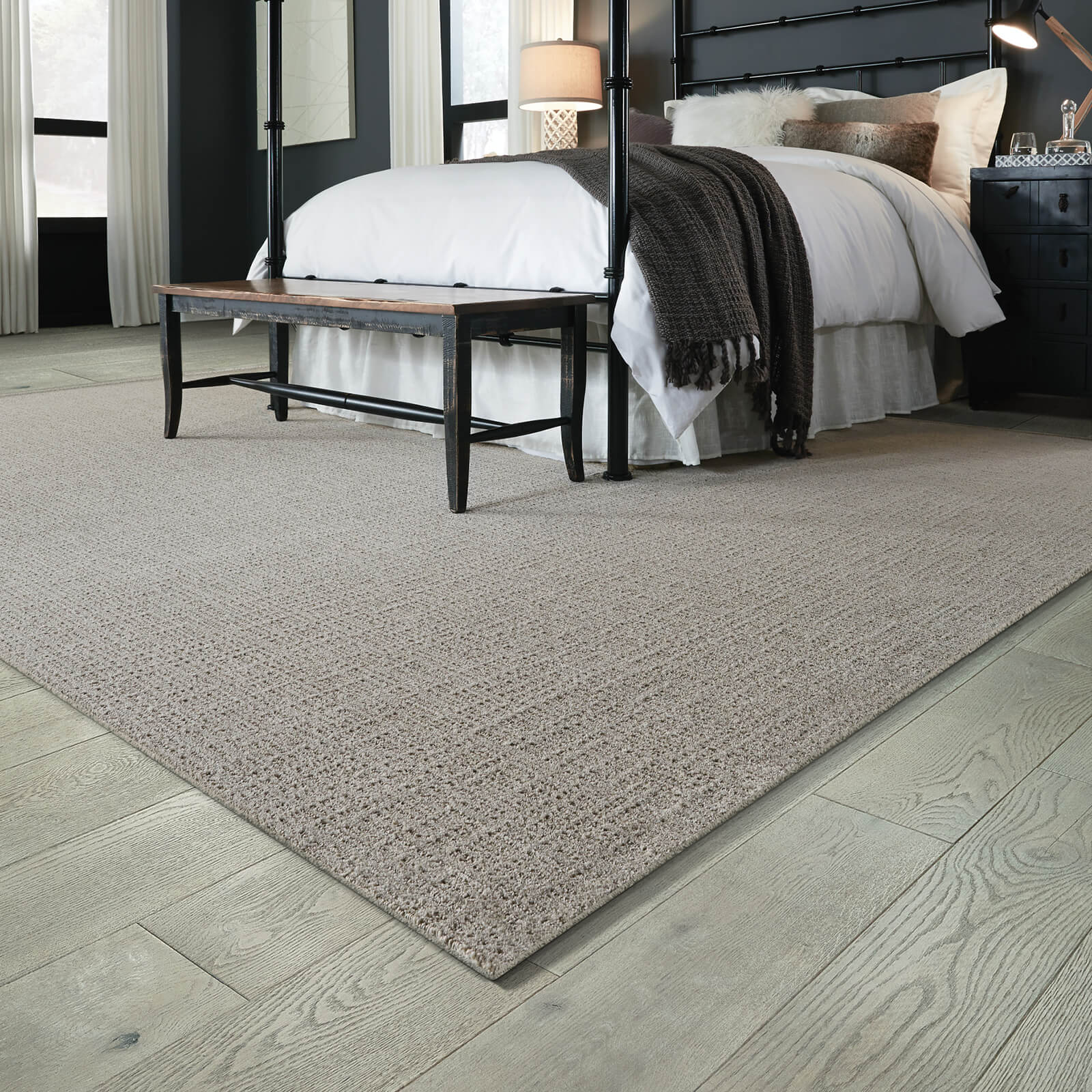 Kensington carpet in bedroom | McCool's Flooring