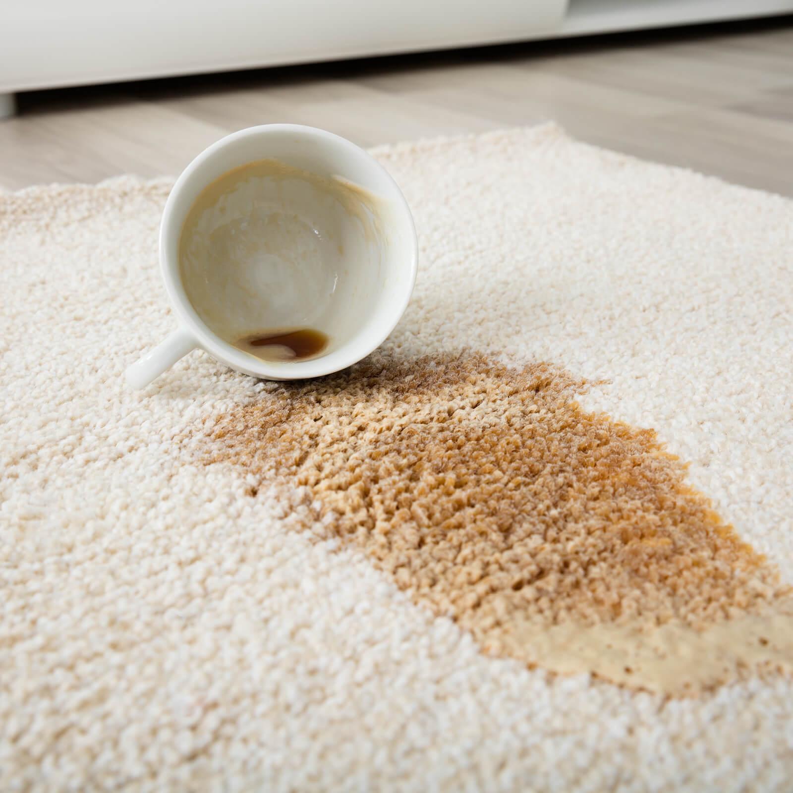 Stain on carpet | McCool's Flooring