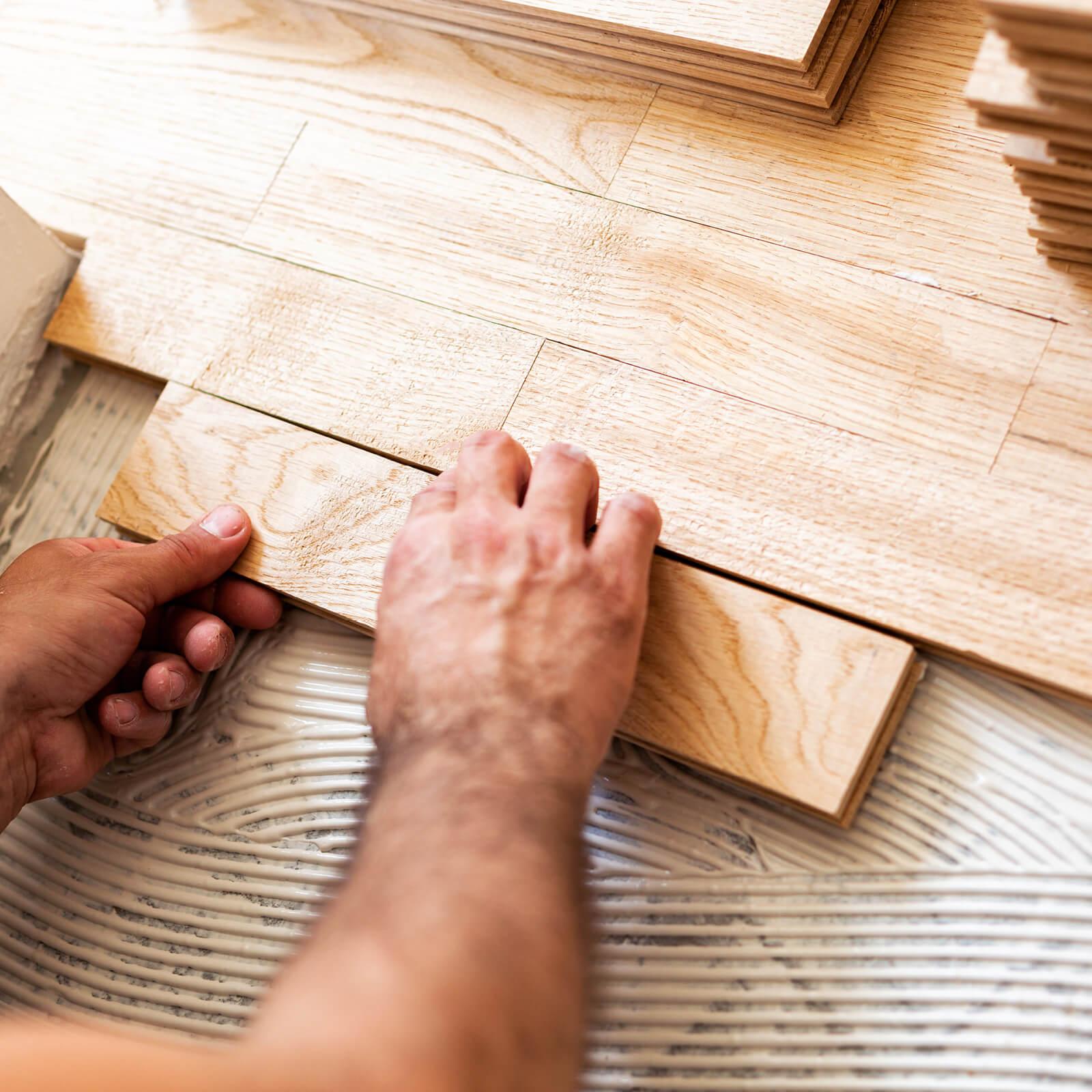 Hardwood installation | McCool's Flooring