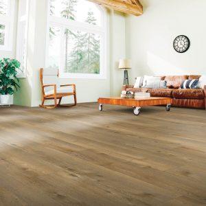 Modern living room laminate flooring | McCool's Flooring