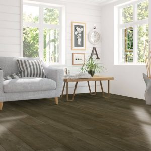 Laminate flooring of living room | McCool's Flooring