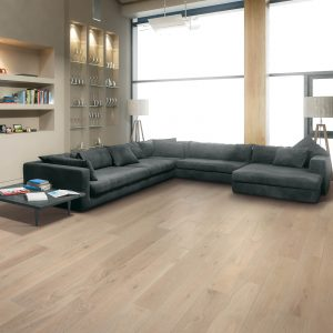 Waterproof flooring of modern living room | McCool's Flooring