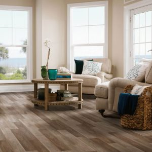 Waterproof flooring of living room | McCool's Flooring