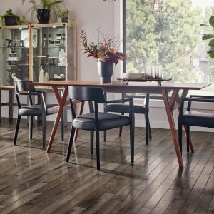 Dining room hardwood flooring | McCool's Flooring