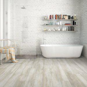 Bathroom hardwood flooring | McCool's Flooring