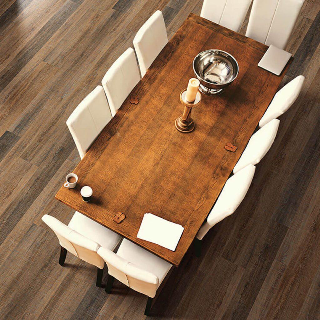 Dining room flooring | McCool's Flooring