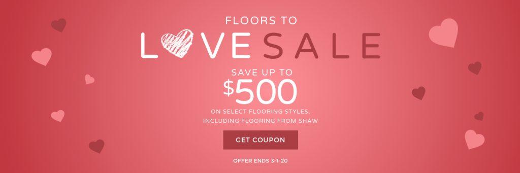 Floors to love sale
