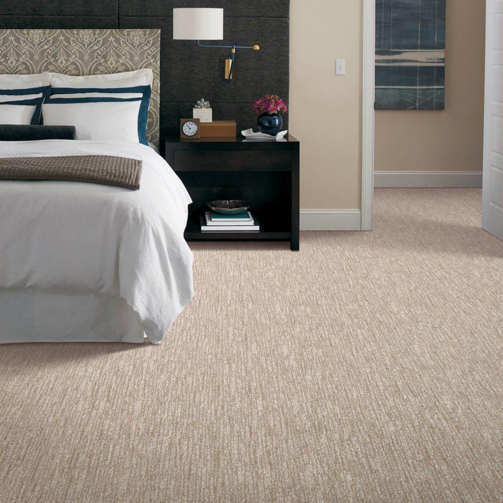 New carpet in bedroom