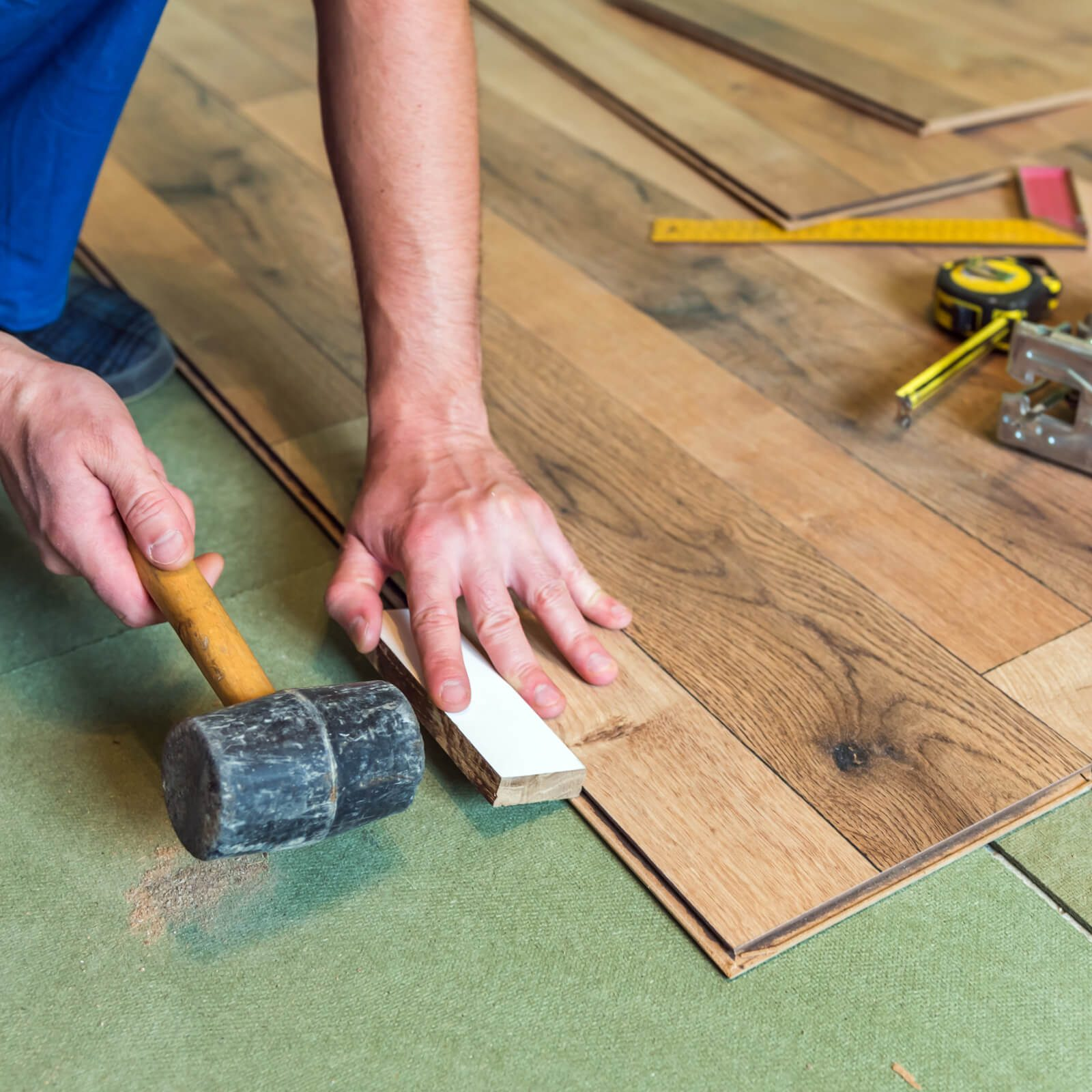 Laminate installation | McCool's Flooring
